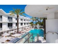 Leilighet i top renovert resort med den beste beliggenheten ved stranden på South Beach