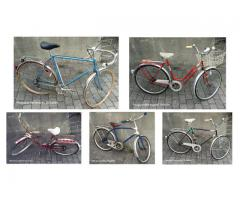 Gamle sykler DBS Svithun Peugeot