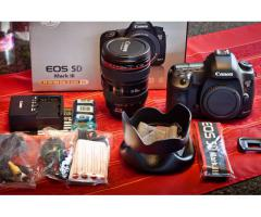 Canon EOS 5D Mark III 22.3MP DSLR og 24-70 linse