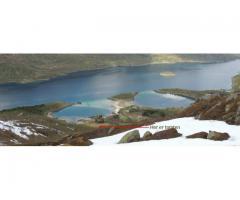 Hyttetomt i Lofoten