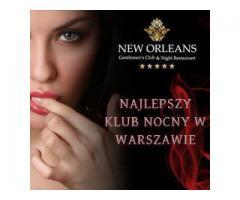 New Orleans Gentlemens NightClub and  Restaurant i Warszawa vil organisere din utdrikningslag