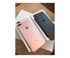 Apple iPhone 7 - €350 , Apple iPhone 7 Plus - €375 , Samsung galaxy S8 64GB - €400