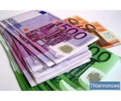 Forslag til lån til en rekke prosjekter mellom 10.000 € til 10.000.000 €