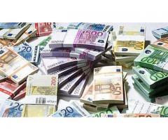 tilbyr et lån fra € 1000 til € 7.000.000