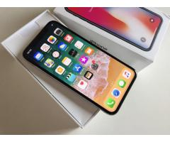 Apple iPhone x 64gb 399 EUR iPhone x 256gb 449 EUR