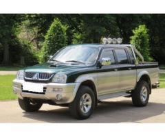 Mitsubishi L200 2,5 td 4x4 dobbelt førerhus pickup
