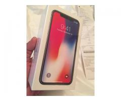 Apple iPhone X (iPhone 10) - 64 GB ulåst plass grå / sølv 12M garanti