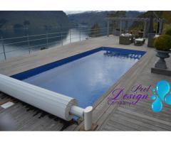 Svømmebasseng NEW Swimming Pool Aura 7,00 m x 3,00 m x 1,55 m Full SET