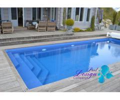Svømmebasseng NEW Swimming Pool Comfort 8,50 m x 3,00 m x 1,55 m Full SET