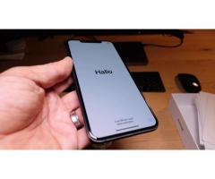 iPhone XS MAX 4 GB RAM og 64 GB, 256 GB, 512 GB