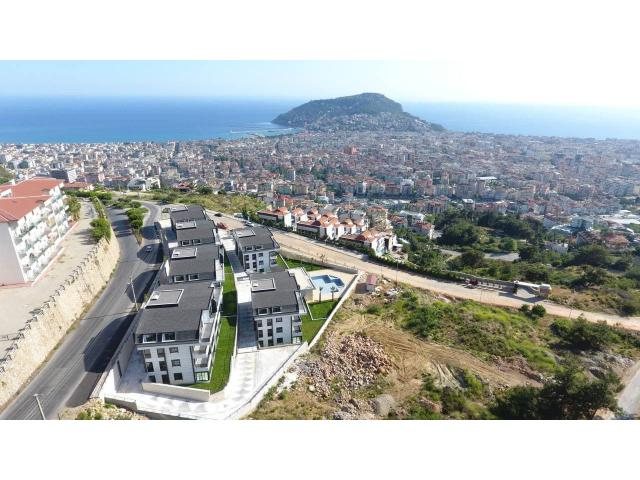 Luxury apartments in Alanya